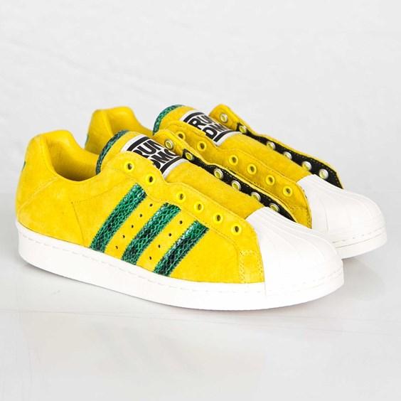 Les chaussures Adidas Originals Superstar Run DMC