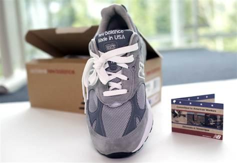 d9c574a4 New Balance Shoe Materials Aren't All U.S. Made