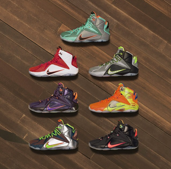5ed82d3734250 ... Nike LeBron 12 - New Colorways Unveiled - WearTesters ...