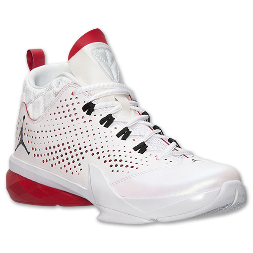 Jordan Flight Time 14.5 White/ Gym Red- Black – Available Now