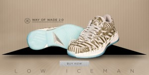 Li-Ning Way of Wade 2.0 Low 'Iceman' – Available Now