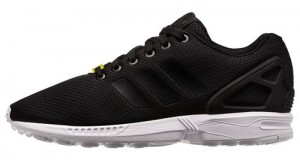 adidas ZX Flux Black/ White Available Now