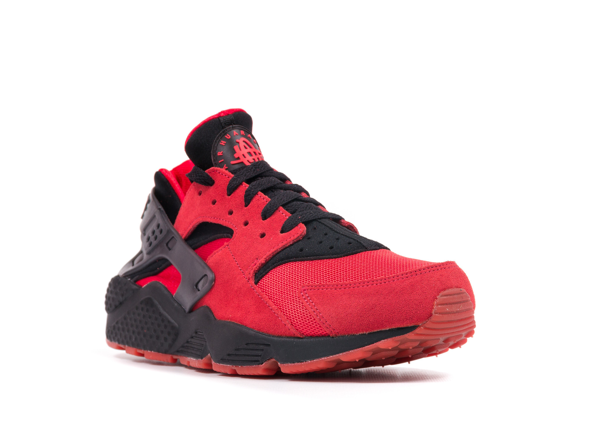 Nike Air Huarache Black And Red