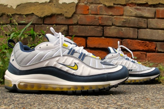 best authentic 86a88 603f5 Nike Air Max 98 Tour Yellow/Midnight Navy - WearTesters