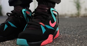 Nike Air Trainer Max '91 Black/ Hyper Punch- Hyper Jade