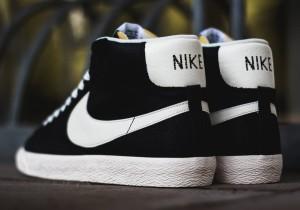 Nike Blazer Mid Premium Vintage Black:White 3
