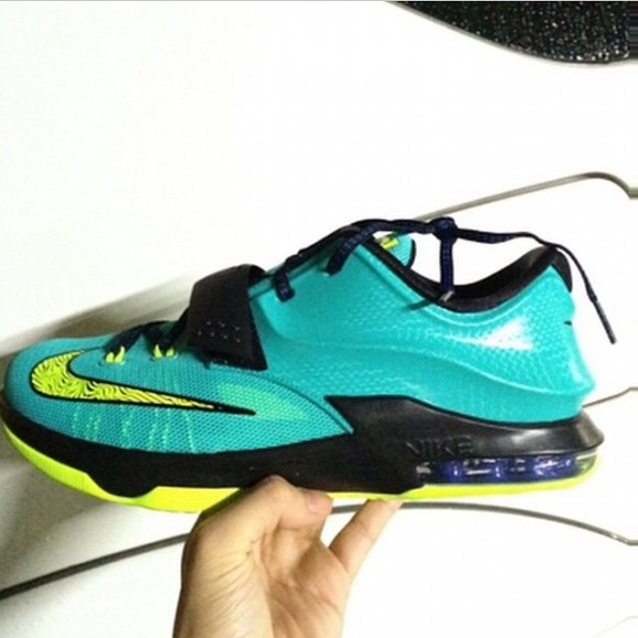 reputable site cb2b5 5db8f Nike KD 7 'Lightning' - First Look - WearTesters