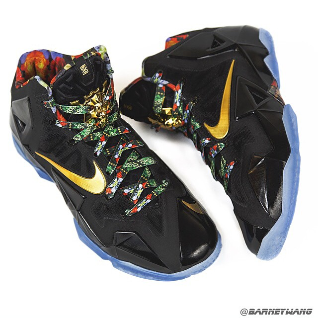 Nike LeBron 11    Watch The Throne    SampleWatch The Throne Lebron 9