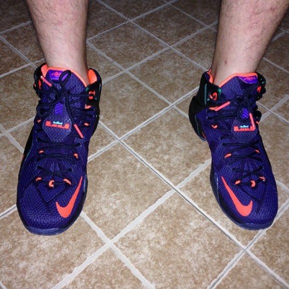 Nike LeBron 12 'Instinct' - On-Feet Look