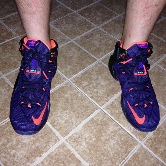 Nike LeBron 12 'Instinct' - On-Feet Look ...