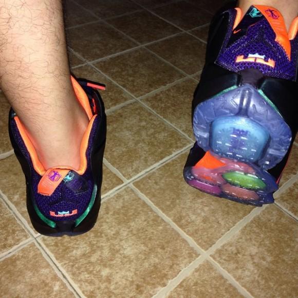 ... Nike LeBron 12 'Instinct' - On-Feet Look2 ...