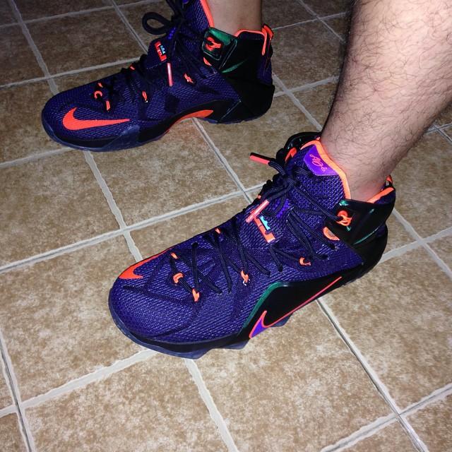 ... Nike LeBron 12 'Instinct' - On-Feet Look3 ...