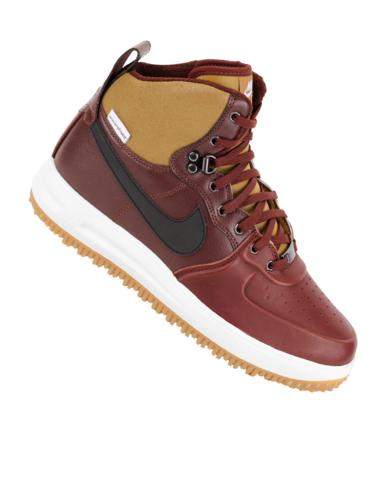 Desgastar Molesto Fielmente  Nike Lunar Force 1 Sneakerboot Tan/Burgundy - First Look - WearTesters