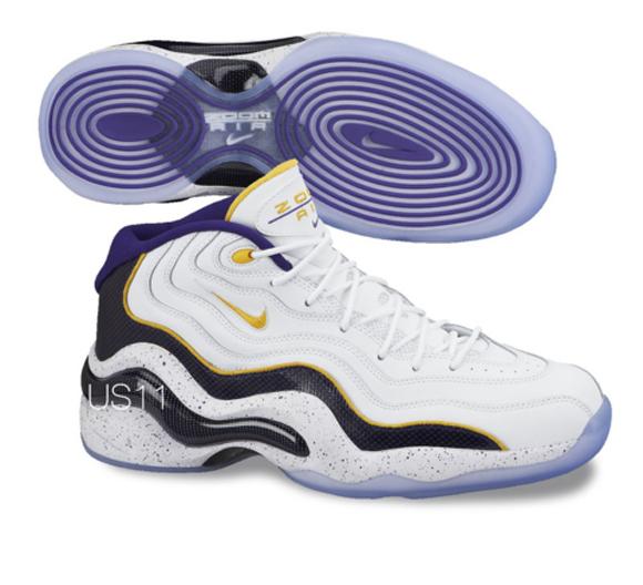 Nike Zoom Flight '96 'Lakers'