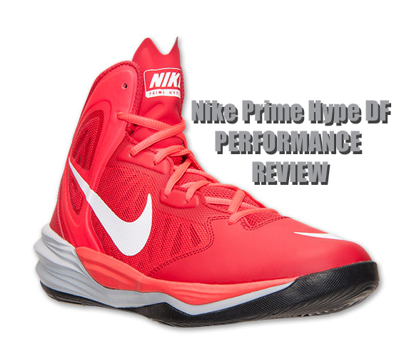 promo code cefd1 8d0da Nike Prime Hype DF Performance Review - WearTesters