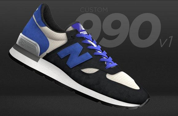 Custom New Balance 990v1