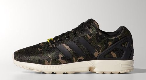 adidas ZX Flux 'Camo' Available Now WearTesters
