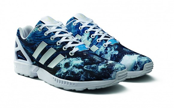 Adidas Zx Flux Ocean For Sale