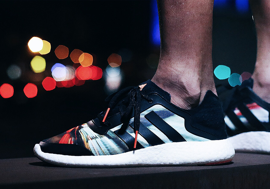 adidas pure boost city blur sale