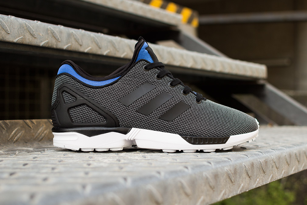 Adidas Flux Black And Blue