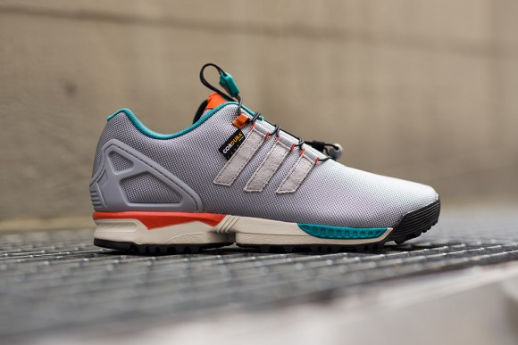 separation shoes b50b3 8439a adidas ZX Flux Winter Grey/ Turquoise - WearTesters