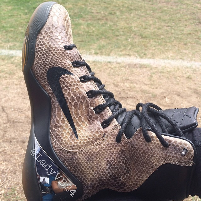 promo code 5630c e2dfc ... Vanessa Bryant Shows Off New Kobe 9 EXT Snakeskin - WearTest Nike ...