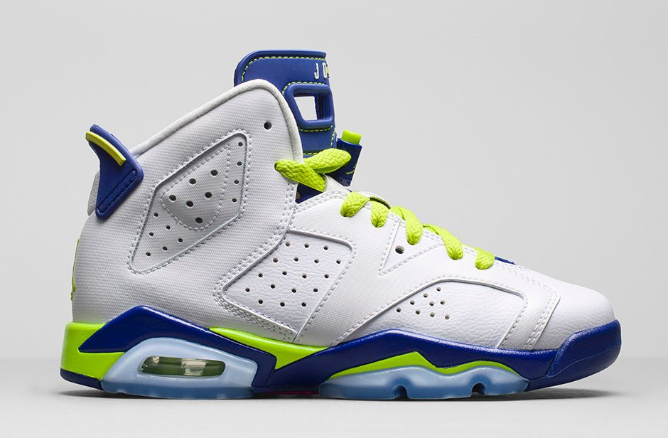 Air Jordan 6 Retro 'Seahawks' GS - Available Now ...