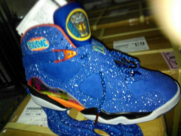 check out 18d3e 9fdc9 Air Jordan 8 Retro Doernbecher - Another Look - WearTesters