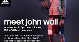 John Wall Meet and Greet for the adidas J Wall 1 in NYC