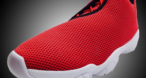 Jordan Future Low in Red/ Black – White