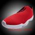 Jordan Future Low in Red/ Black – White