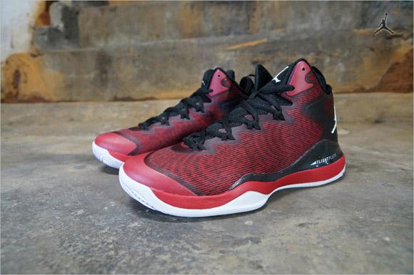 Jordan superfly 3 black red