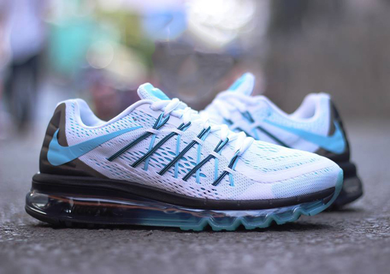 nike air max 2015 blue and white