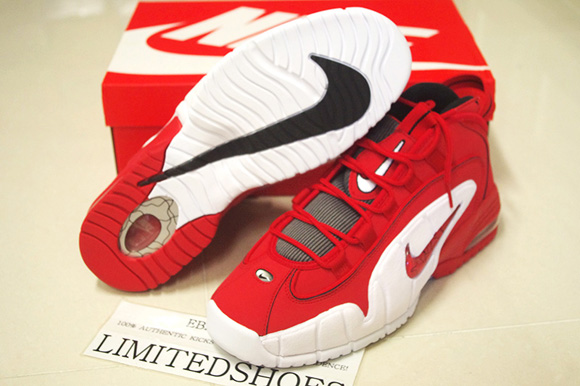 Nike Air Max Penny 1 Retro 'University Red' Available Now