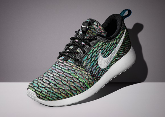 ... Nike Flyknit Roshe Run 'Multi-Color' ...