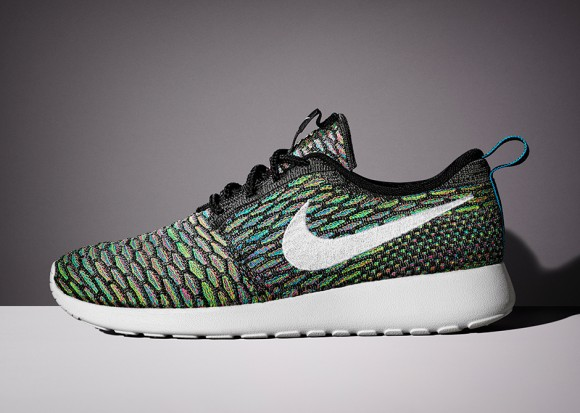 Nike Roshe Ejecutar Los Hombres Multicolores Flyknit 6R6jf6mF