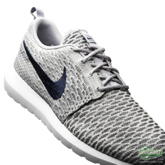 nike flyknit roshe run 39 wolf grey 39 weartesters. Black Bedroom Furniture Sets. Home Design Ideas