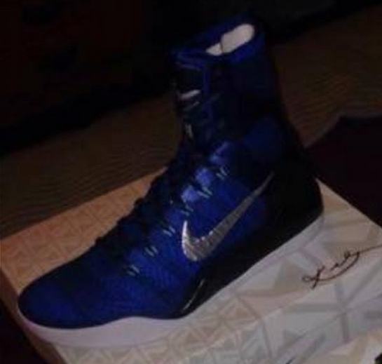 Nike Kobe 9 Elite 'Brave Blue' 1