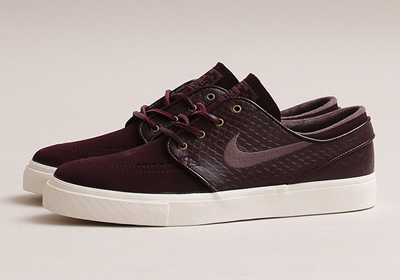 nike sb stefan janoski premium 39 deep burgundy 39 available. Black Bedroom Furniture Sets. Home Design Ideas