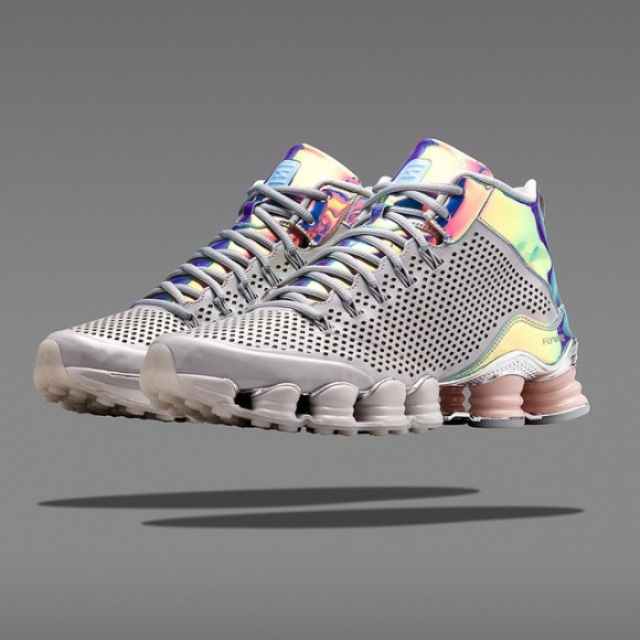 detailed look 25ac9 76434 Nike Shox TLX Mid 'Iridescent' - Available Now - WearTesters