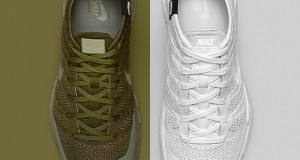 NikeLab Flyknit Trainer Chukka FSB 'Sage' and 'White' – Official Images + Release Info