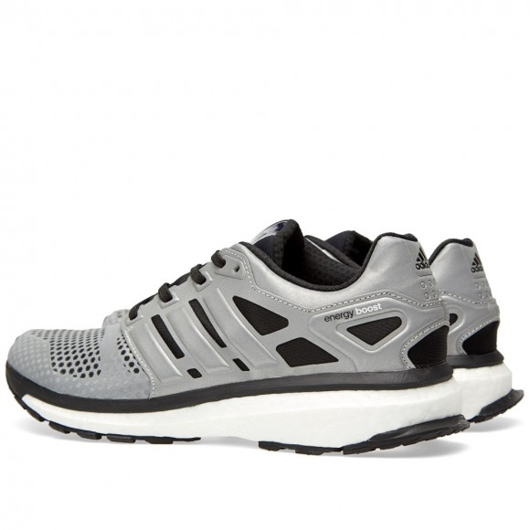 adidas Men's Energy Boost 3 M Grey, Green and Black Running