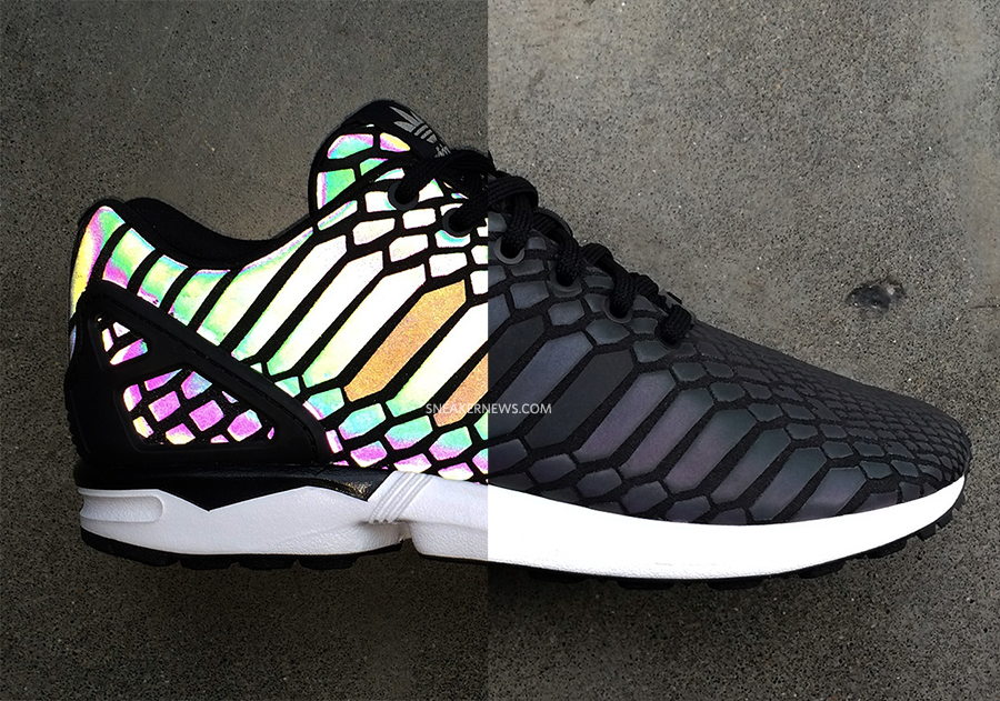 quality design 4c491 b278c adidas ZX Flux 'Reflective Snake' - WearTesters