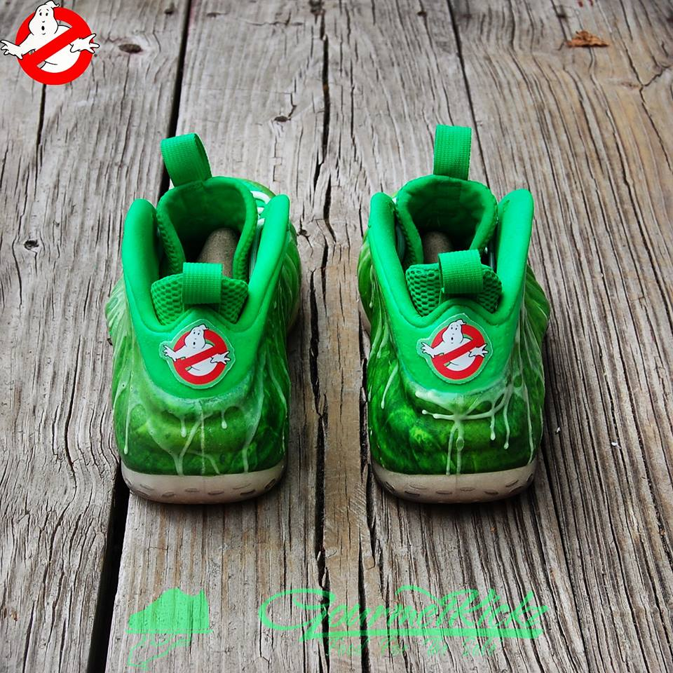 Nike Air Foamposite One I Ve Been Slimed Custom
