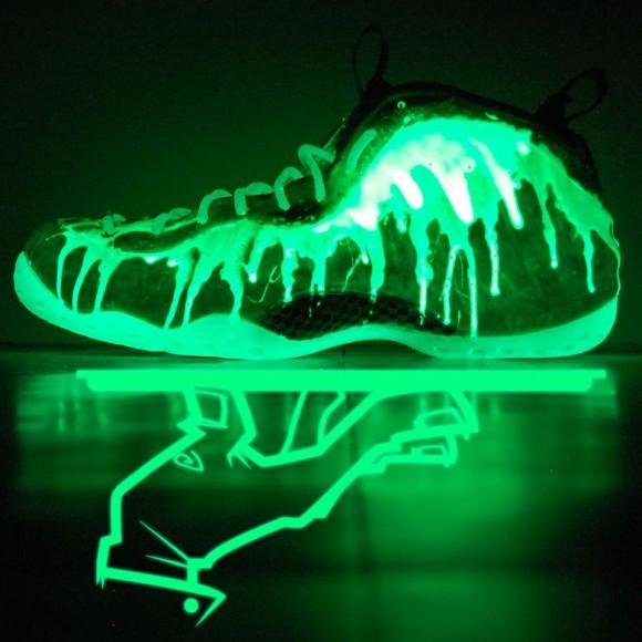 084ccf32ab5b Just A Hobby · Halloween Foamposites  Nike Air Foamposite One  I ve Been  Slimed  Custom