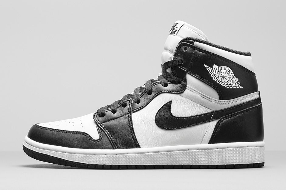 Air Jordan Black And White Shoes