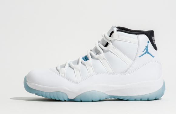 Air Jordan 11 Retro Legende Blå Sko Ru4vy