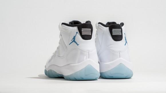 air jordan retro 11 legend blue bottoms