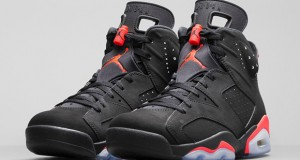 Air Jordan 6 Retro Black/ Infrared23 – Official Look + Release Info