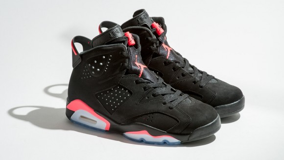 Air Jordan 6 Retro Black/ Infrared23 – Available Now